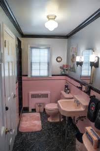 Pink And Black Bathroom Ideas Gallery For Gt Vintage Pink Bathroom Ideas