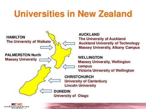 List Of Universities In New Zealand For Mba by Education In New Zealand General