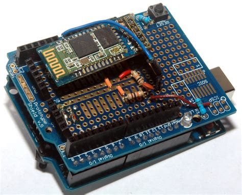 diy arduino bluetooth programming shield make