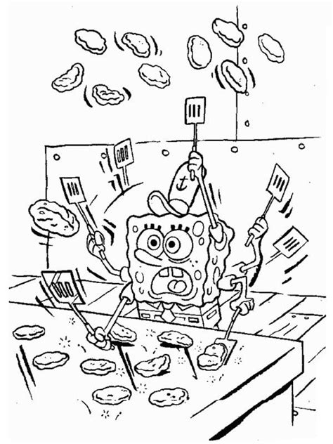 Krusty Krab Coloring Pages Krusty Krab Coloring Pages