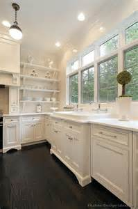 White Kitchen Cabinets Wood Floors by Pictures Of Kitchens Traditional White Kitchen