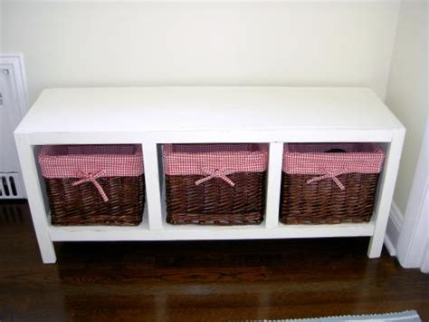 cubby bench plans ana white cubby bench diy projects