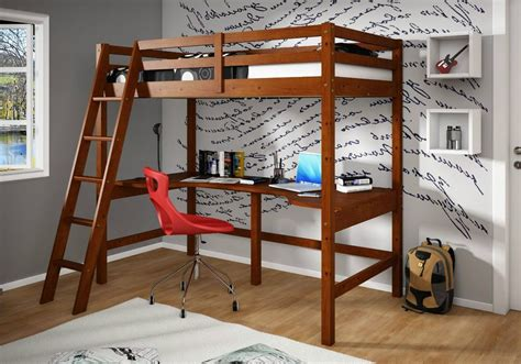 Loft Bed With Desk Underneath The Wooden Floor Children White Bunk Bed With Desk Underneath