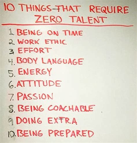 10 things that require zero talent ignore limits