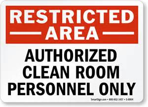 Design My Room Online For Free cleanroom custom notice signs mysafetysign com