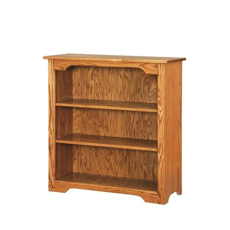 shaker 3 bookcase solid hardwood bookcase amish made