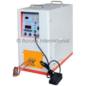 induction heater kw buy across ihg10 10 kw hi frequency compact induction heater w timers 100 500 khz megadepot