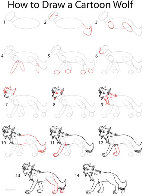 how to draw a sketch step by step how to draw a wolf anime step by step pictures