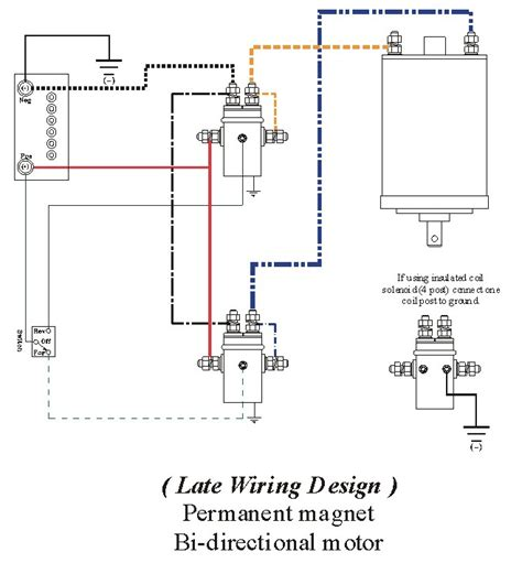 winch solenoid wiring diagram winch wiring help