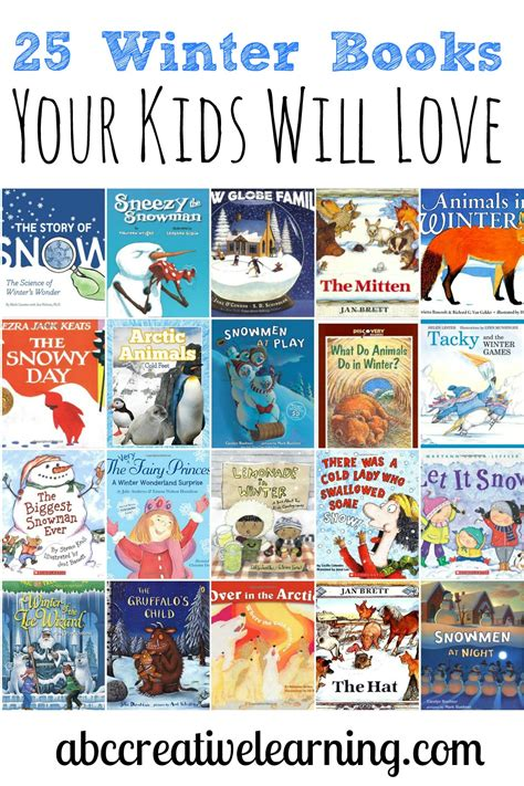 winter picture books 25 winter books your will abc creative learning