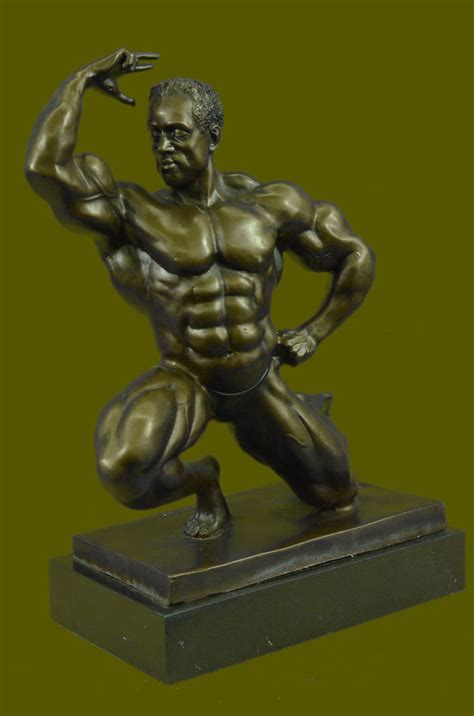 classical antique bronze sculptures figurine old man handcrafted classical muscular man male figure statue