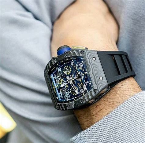 Richard Mille Battery richard mille rm11 felipe massa carbon richard mille watches mens clothing styles