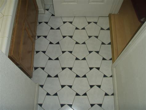 tiles pattern in bathroom three mathematical floors