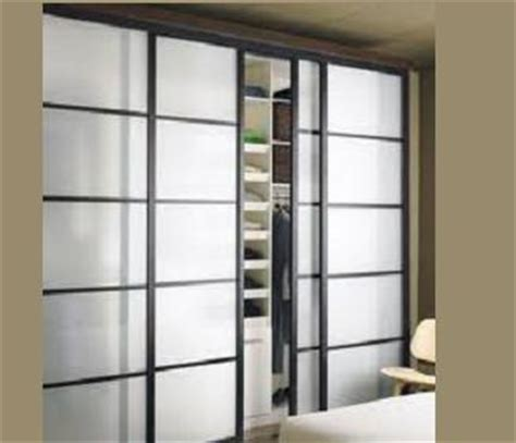 Frosted Glass Closet Sliding Doors Frosted Glass Sliding Closet Door