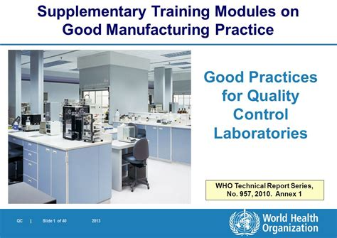 acts laboratory for performance practices world health organization ppt download