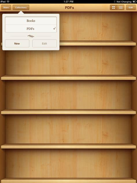 Bookshelf For Ipad Como Sincronizar Arquivos Pdf Para Ler No Ipad Macworld