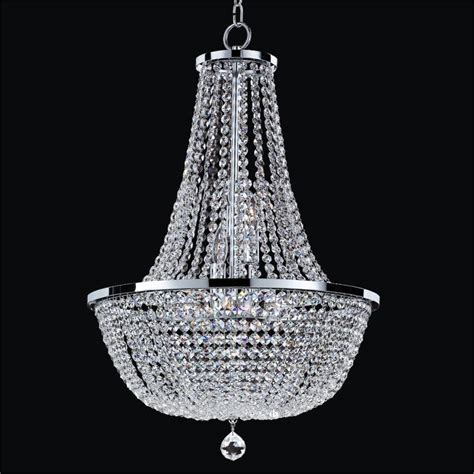 Crystal Empire Chandelier Synergy 630 ? GLOW® Lighting