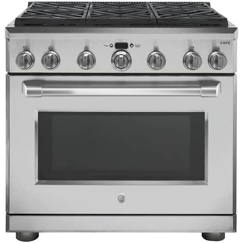 Oven Gas 2 Jutaan nxr entree 36 in 5 5 cu ft professional style gas range