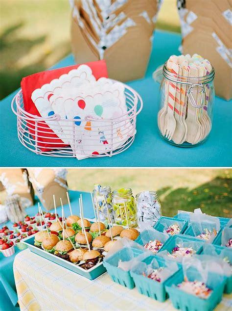 backyard 1st birthday party ideas 1000 ideas about backyard birthday parties on pinterest