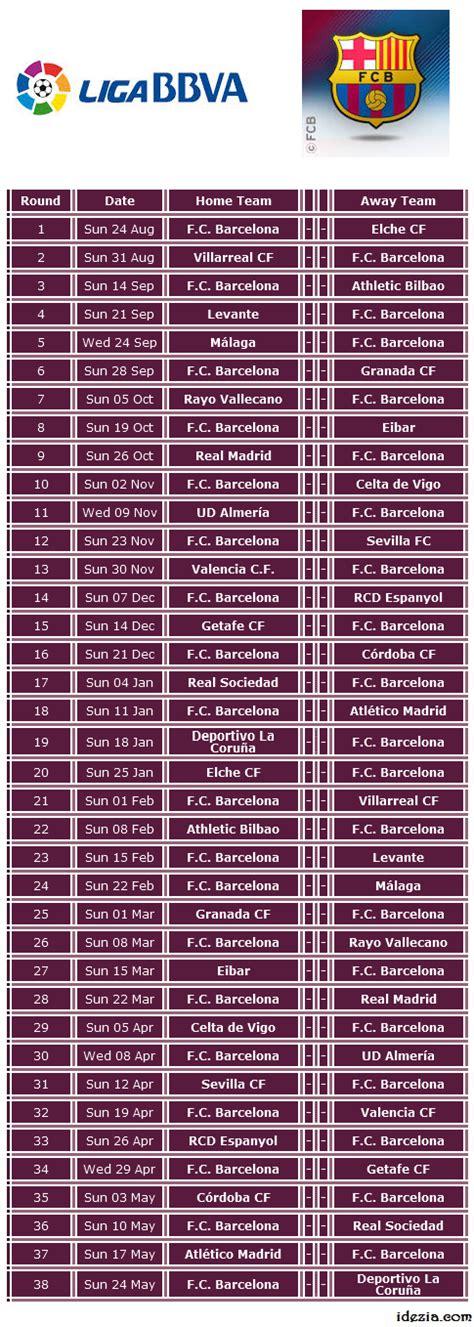 barcelona jadwal pertandingan download jadwal pertandingan barcelona 2014 2015 idezia