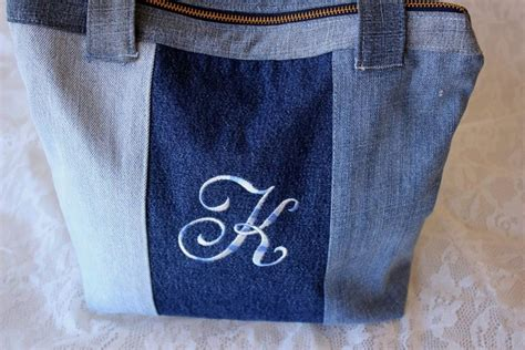 pattern for jeans bag sewing pattern for recycled denim purse by kimberleeg