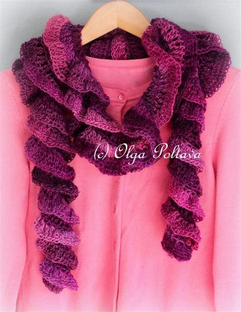tutorial pashmina ruffle crochet ruffle shawl pattern bing images