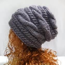 Pattern aurora slouch slouchy beanie hat p d f easy crochet pattern