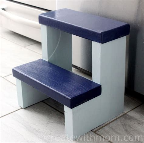 create with how to build a step stool diy