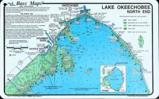 lake okeechobee map lake okeechobee end