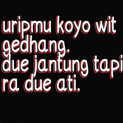 gambar kata kata lucu gokil bahasa jawa gambar kata kata