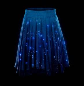 solar powered twinkle lights lightup stars skirt with over 250 leds