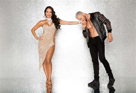 nikki bella and artem dancing with the stars season 25 celebrity cast frankie