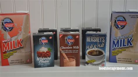 Shelf Stable Whipping by Gossner Dairy Products That Are Shelf Stable Food
