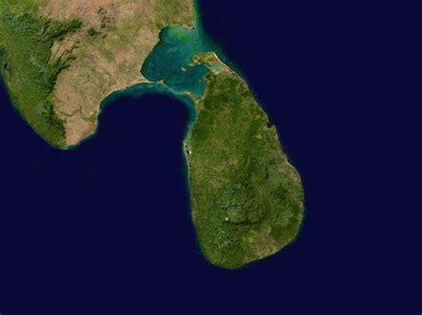 sri lanka satellite map map of sri lanka satellite map worldofmaps net
