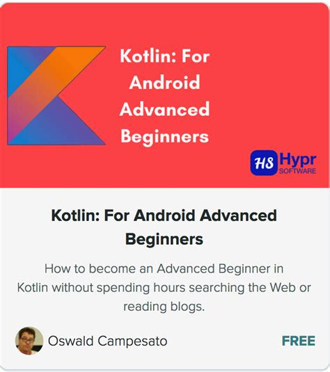 android studio tutorial for beginners ppt kotlin for android advanced beginners hypr software