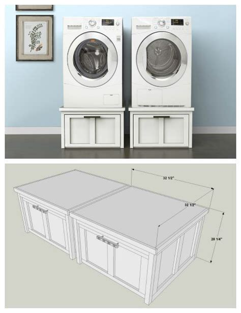washer and dryer storage drawers diy washer and dryer pedestals with storage drawers