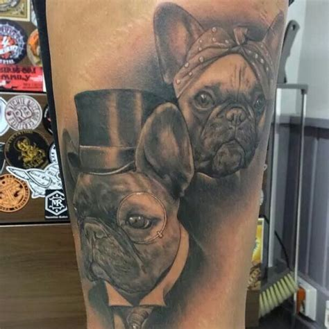 french bulldog tattoo the 21 coolest bulldog designs in the world