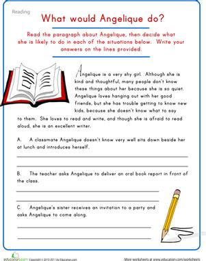 Esl Reading And Writing Worksheets by Creative Writing Character Development Worksheet