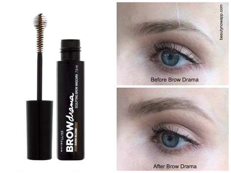 Maybelline Brow Drama Mascara maybelline brow mascara review beautynow