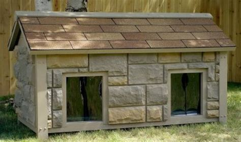 2 room dog house two room dog house plans