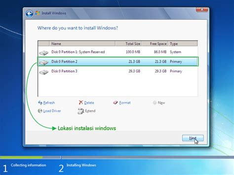 tutorial instal windows 7 gambar tutorial cara install windows 7 8 10 lengkap gambar