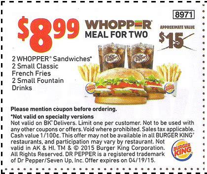printable burger king vouchers 2015 burger king printable coupons printable coupons