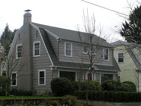 Dutch Colonial Style by Dutch Colonial Revival Mt Tabor Neighborhood Portland
