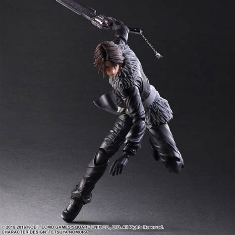 Play Arts Kingdom Hearts Cloud Strife Sephiroth Figure squall and sephiroth figures on the way from play arts