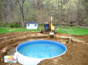 backyard above ground pool designs design decorating