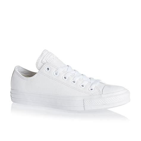 Converse Ct Ii 2 Grey Ox converse chuck all leather ox shoes white