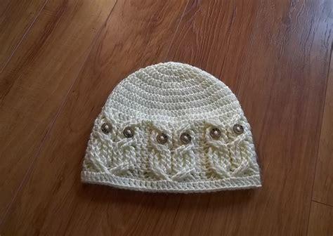 free pattern owl hat it s a hoot an owl hat pattern by carlinda lewis owl