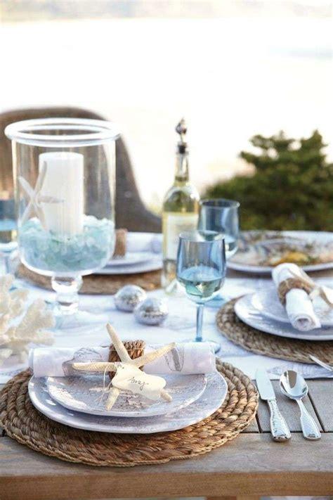 tavola ben apparecchiata tavola in stile marina foto design mag