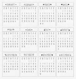 Mini Desk Calendar 2015 Template Free Printable 2014 Mini Calendar Free Printable 2017