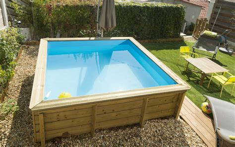 mini piscine hors sol bois 3405 la mini piscine une piscine 233 conomique et